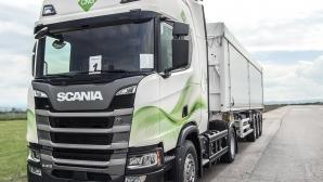 Scania помага на клиентите си да намалят вредните емисии в атмосферата