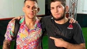 Хабиб продаде тениска на Порие за $100 000 и му изпрати парите