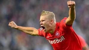 19-годишен норвежец с хеттрик в дебюта си в Шампионската лига
