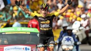 Роглич се прицели в Тур дьо Франс