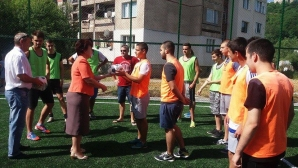 За четири години община Перник се сдоби със 17 нови спортни площадки