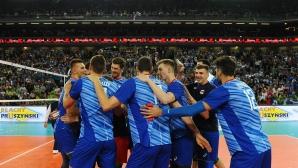 Русия с 5 от 5 в Група С след бой над Словения (снимки)