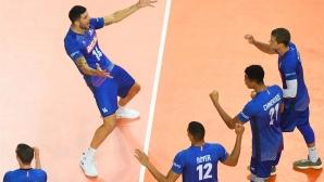 Франция спечели сблъсъка с Италия в Монпелие (снимки)