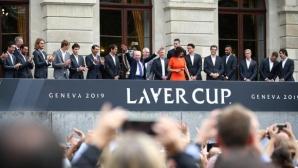 Федерер на двойки със Зверев в първия ден на Laver Cup