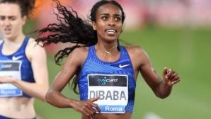 Рекордьорка на 1500 метра пропуска Световното по лека атлетика в Доха