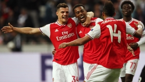 Арсенал с убедителна победа във Франкфурт (видео)