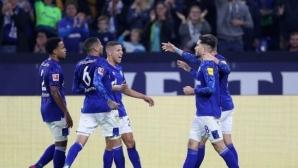 Брилянтен гол затвърди възхода на Шалке 04 (видео)