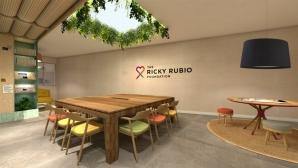 Фондацията на Рики Рубио отвори стая за болни от рак пациенти