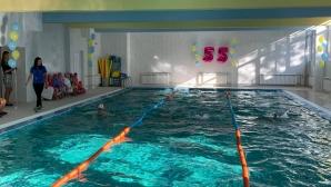 След дълги години чакане басейнът в столичното 55 СУ отново заработи