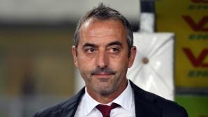 Джампаоло: Не ме интересува, че сме аутсайдерът в дербито