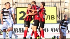 Кръгът във Втора лига продължава с четири мача - радост за Хебър и двата Спартака