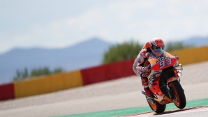 """Маркес показа класа на """"Арагон"""" и триумфира в своя старт №200 в MotoGP"""