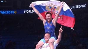 Симеон Щерев донесе на Русия 2 титли, 1 сребро и 2 бронзови медала на Световното (снимки)