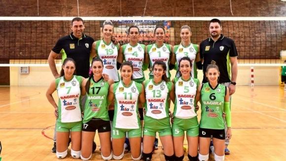 Волейболистките на Берое на трето място на турнира в Констанца