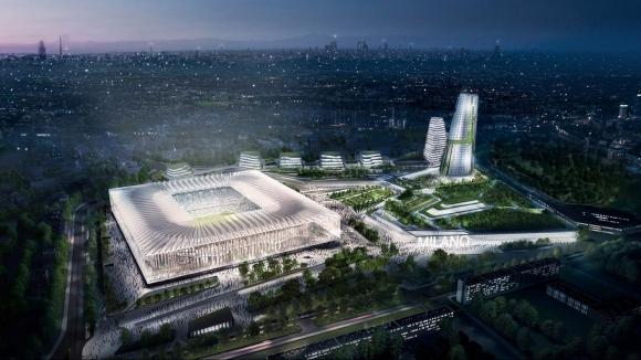 """Милан и Интер представиха проектите си за новия """"Сан Сиро"""""""