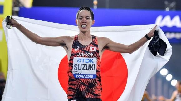 Японец триумфира на 50 километра спортно ходене