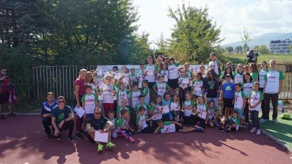 Детско атлетическо състезание #Back2Track се проведе в неделя