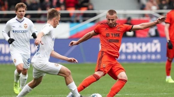 ЦСКА (Москва) вкара три във втори пореден мач, Хичо беше титуляр