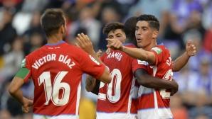 Гранада отново поведе в Ла Лига (видео)