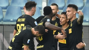 """Интер продължава без грешка в Серия """"А"""", Алексис с противоречив дебют като титуляр (видео)"""