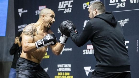 Открити тренировки преди UFC 243 (видео)