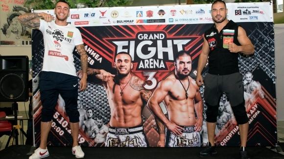Успешен кантар за бойците на Grand Fight Arena 3