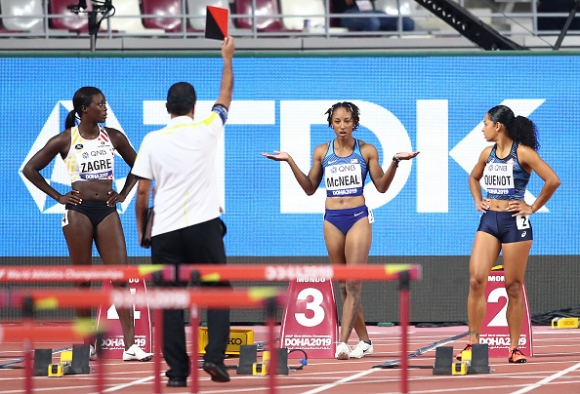 Олимпийската шампионка на 100 метра с препятствия изненадващо отпадна още в сериите
