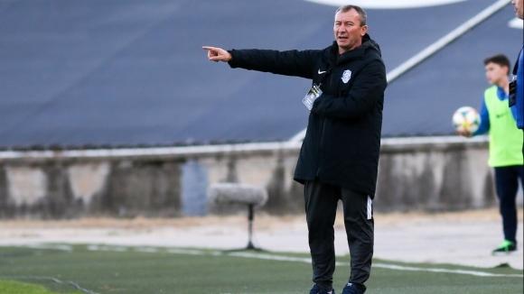 Белчев: Разочарован съм, днес не беше нашият ден