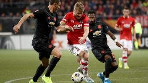 Безличен Манчестър Юнайтед спечели точка в Холандия
