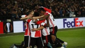Фейенорд срази Порто, всички в групата са с по 3 точки (видео)