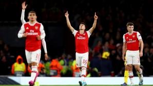 Младоците на Арсенал се развихриха (видео)