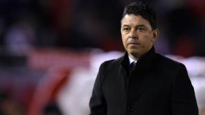 Барселона поглежда към треньора на Ривър Плейт