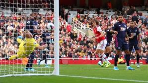 Арсенал влезе в тройката (видео)