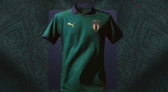Италия оставя синьото и излиза с нов екип