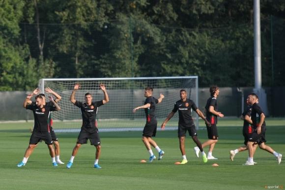 Националният отбор вече тренира в пълен състав