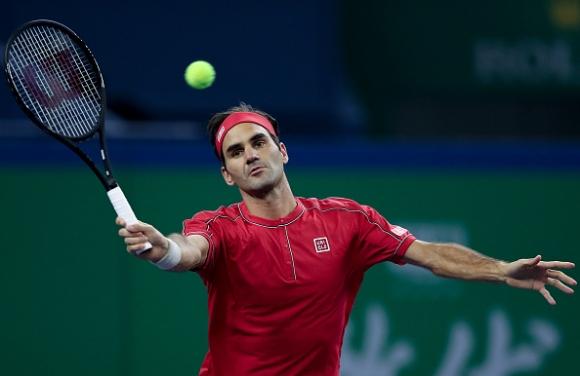 Федерер преодоля първото препятствие в Шанхай (видео)