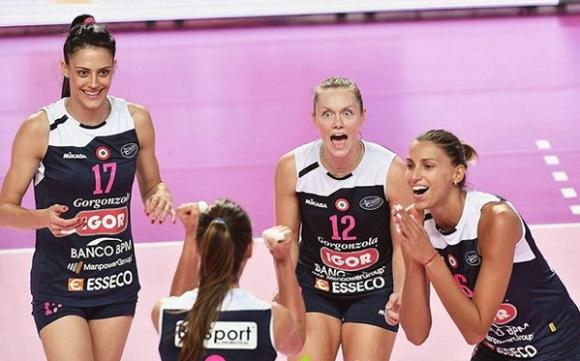 Елица Василева и Новара стартираха сезона с трофей