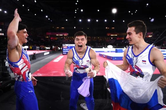 Руснаците станаха световни шампиони по спортна гимнастика