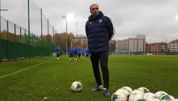 Динамо (М) с първа тренировка под ръководството на новия треньор