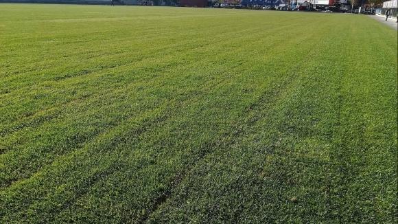 Левски се похвали с нов терен (снимка)