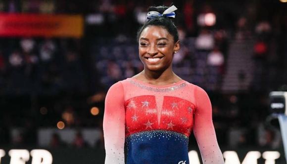 Симон Байлс стана първата гимнастичка с пет световни титли в многобоя
