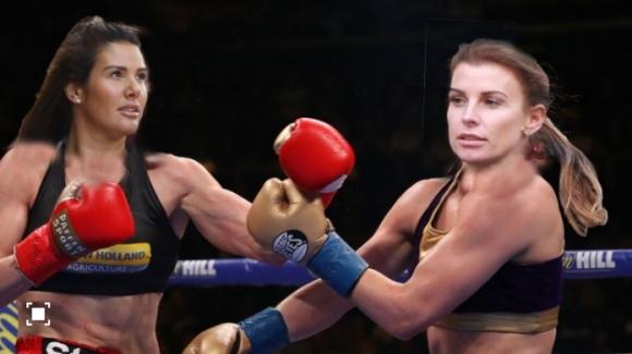 Еди Хърн предложи боксов мач между жените на Рууни и Варди