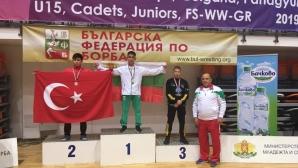 Юношите ни завършиха първи в отборното на Балканиадата