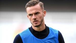 Звезда на Лестър отпадна от състава на Англия за мачовете с Чехия и България