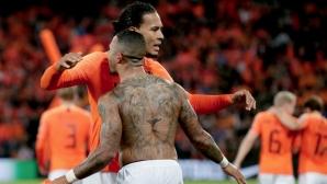 Холандия остана фаворит след инфарктен финал (видео)