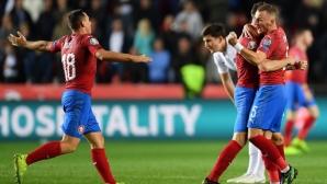 Чехия удари Англия и завърза групата