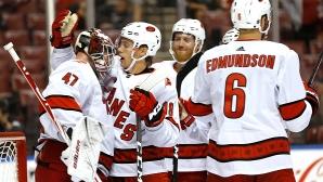 Каролина записа пети пореден успех в НХЛ