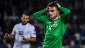 Ирландия с грешна стъпка в Тбилиси