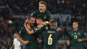Седма поредна победа прати Италия на Евро 2020 (видео)