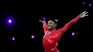 Белгийката Нина Дервал спечели златото на смесена успоредка, Байлс остана пета